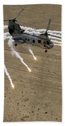 A U.s. Marine Corps Ch-46 Sea Knight Beach Towel by Stocktrek Images