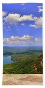 A View From Table Rock South Carolina Beach Towel