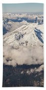 A View From Zugspitze Beach Towel