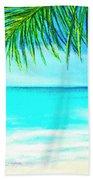 A Walk On Waikiki Beach #190 Beach Towel