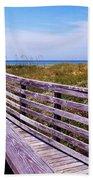 A Walk To The Beach Beach Sheet