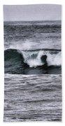 A Wave On The Ocean Beach Towel