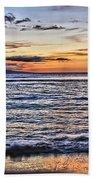 A Western Maui Sunset Beach Towel