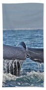 A Whale Of A Tale Beach Towel