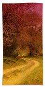 A Winding Road - Bayonet Farm Beach Towel