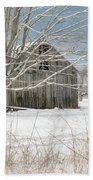 A Winters Day Square Beach Towel