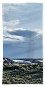 A Yellowstone Np Mesa Beach Towel