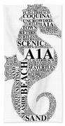 A1A Beach Towel