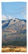 Abajo Mountains Utah Beach Towel