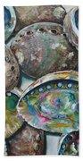 Abalone Shells Beach Towel
