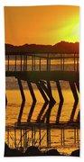 Abandoned Dock Beach Sheet