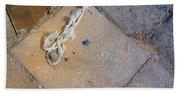 Abandoned Fishing Knot Beach Towel