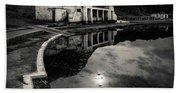 Abandoned Swimming Pool Beach Sheet