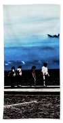 Abby Road By The Bay Beach Towel