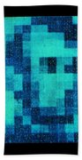 Abe In Aqua Beach Towel