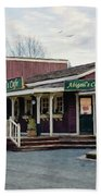 Abigail's Cafe - Hope Valley Art Beach Towel