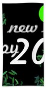 About New Year Beach Towel
