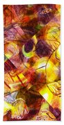 Above And Beyond Scramble Beach Towel