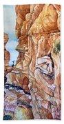 Above Canyonlands Campground Beach Sheet