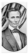Abraham Lincoln Circa 1860 Beach Towel by War Is Hell Store