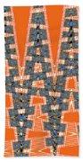 Abstract # 2060ew4a Beach Towel