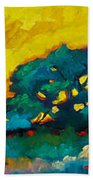 Abstract 01 Beach Towel
