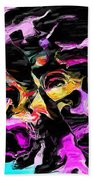Abstract 011715 Beach Towel