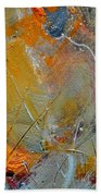 Abstract 015011 Beach Towel