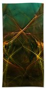 Abstract 031211 Beach Towel