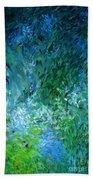 Abstract 05-25-09 Beach Towel