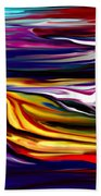 Abstract 06-12-09 Beach Towel