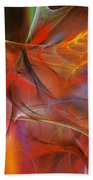 Abstract 062910a Beach Towel
