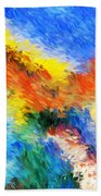 Abstract 070411 Beach Towel