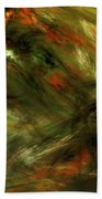 Abstract 102910a Beach Towel