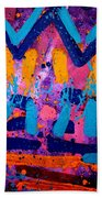 Abstract 10316 - Cropped Beach Towel