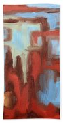 Abstract 147 Beach Towel by Patrick J Murphy