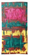 Abstract 16 Beach Towel