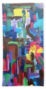 Abstract 213 Beach Towel by Patrick J Murphy