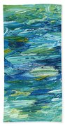 Abstract 366 Beach Towel