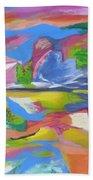 Abstract 5 Beach Towel