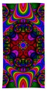 Abstract 667 Beach Towel