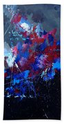 Abstract 77902171 Beach Towel