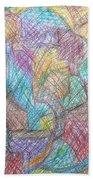 Abstract 801 Beach Towel