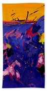 Abstract 880160 Beach Towel