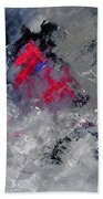 Abstract 88114010 Beach Towel