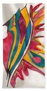 Abstract Art 102 Beach Sheet