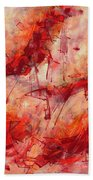 Abstract Art Nineteen Beach Towel