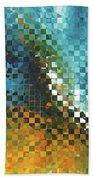 Abstract Art - Pieces 9 - Sharon Cummings Beach Sheet