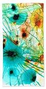 Abstract Art - Possibilities - Sharon Cummings Beach Sheet