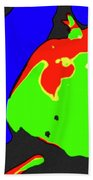 Abstract Baby Apple Beach Towel